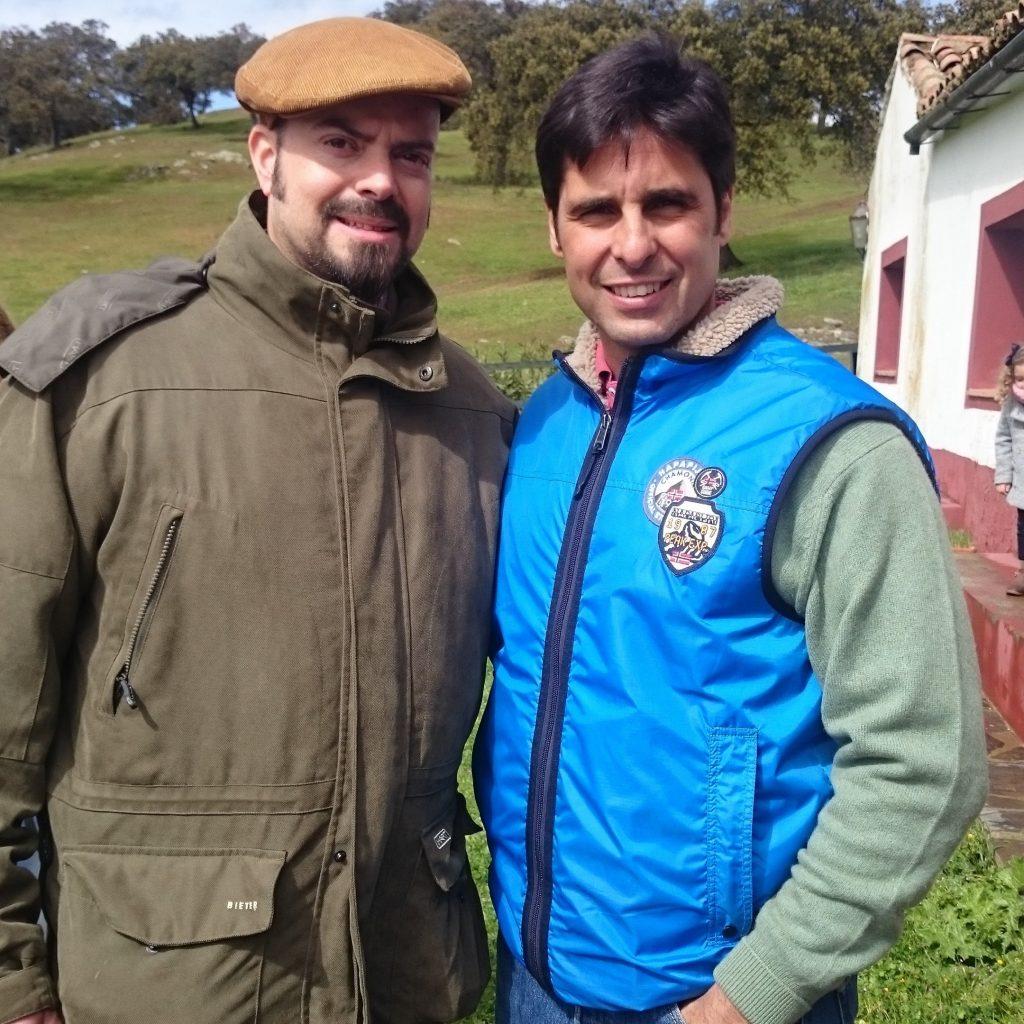 Foto con el maestro Francisco Rivera Ordoñez